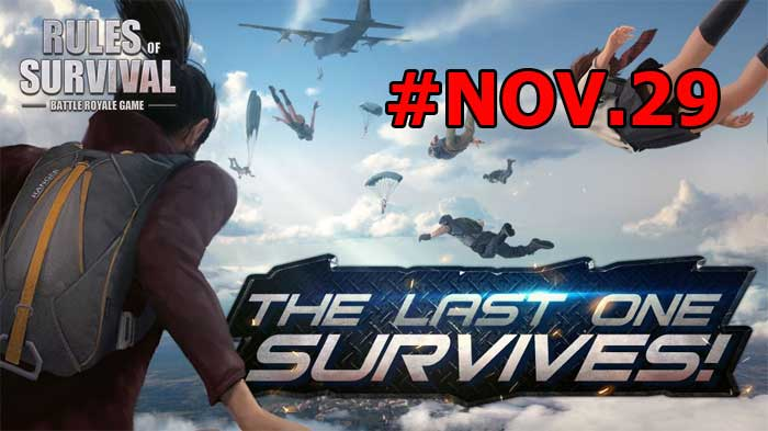 Rules of Survival: Notice (Nov.29)