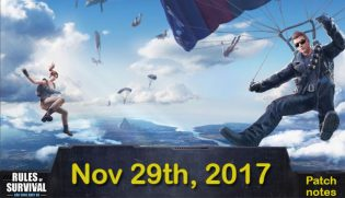 Rules of Survival: Patch notes (Nov.29)
