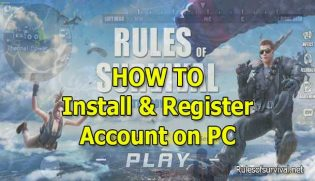 Rules of Survival PC: How to install and register your account