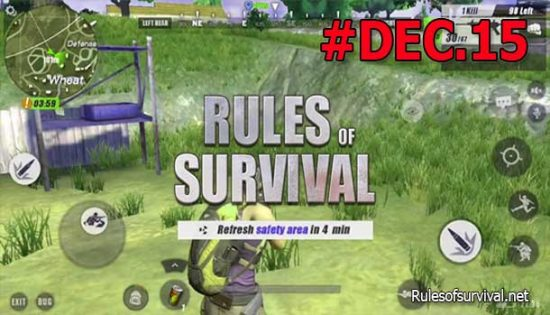 Rules Of Survival PC Patch Notes Dec.15