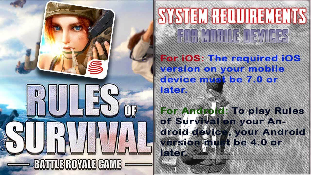 System Requirements for Mobile Devices