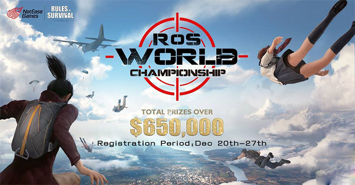 Rules of Survival World Championship