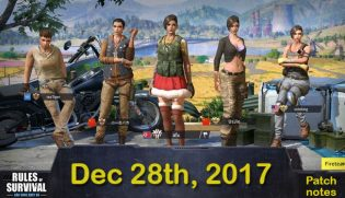 Rules of Survival Patch Notes Dec 28