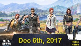Rules of Survival: Patch notes Dec.06