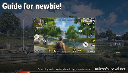 Rules of Survival Displayed On a Screen