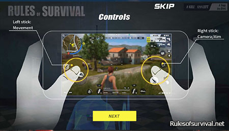 Rules of Survival Jump, Crouch, And Prone