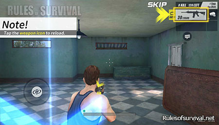 Rules of Survival Collect the Firearm