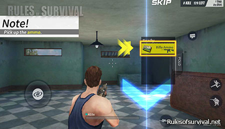 Rules of Survival Collect The Ammo
