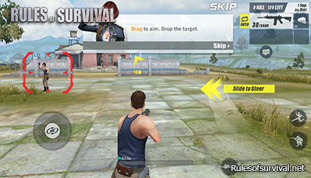 Rules of Survival Taken to The Outside
