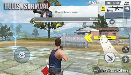 Rules of Survival Reach The Next Point