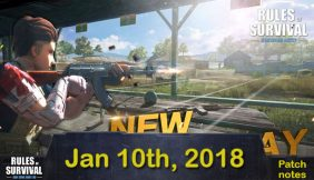 Rules of Survival Patch notes Jan. 10, 2018