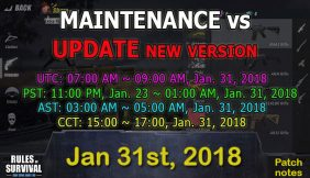 ROS Patch Notes #Jan 31, 2018