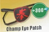 Champ Eye Patch