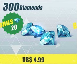 300 Diamonds