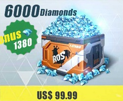 6000 Diamonds