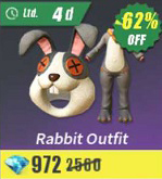 Rabbit Outfit