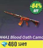 M4A1 Blood Oath Camo