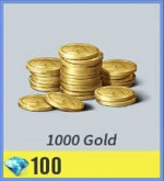 1000 Gold