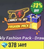 Weekly Fashion Pack - Draw