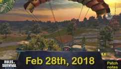 Rules of Survival Notice on Feb. 28, 2018