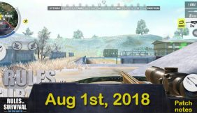 Rules of Survival: Patch Notes On August 1st 2018