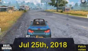 Rules of Survival: Patch Notes On July 25th 2018