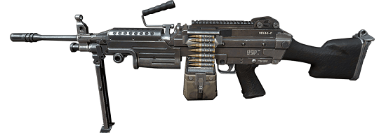 Assault Rifle – M249
