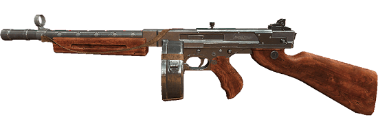 SMG –Thompson: Most SMGs