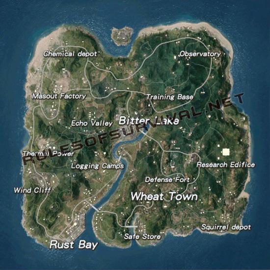 ROS Ghillie Island