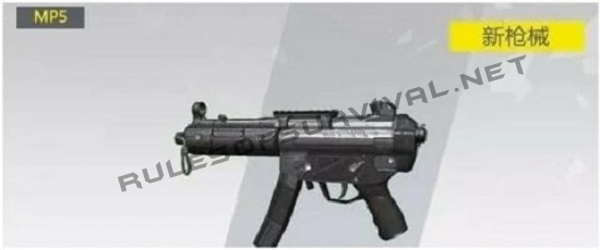MP5 In Rules Of Survival