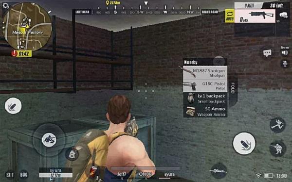Restart Rules of Survival game app